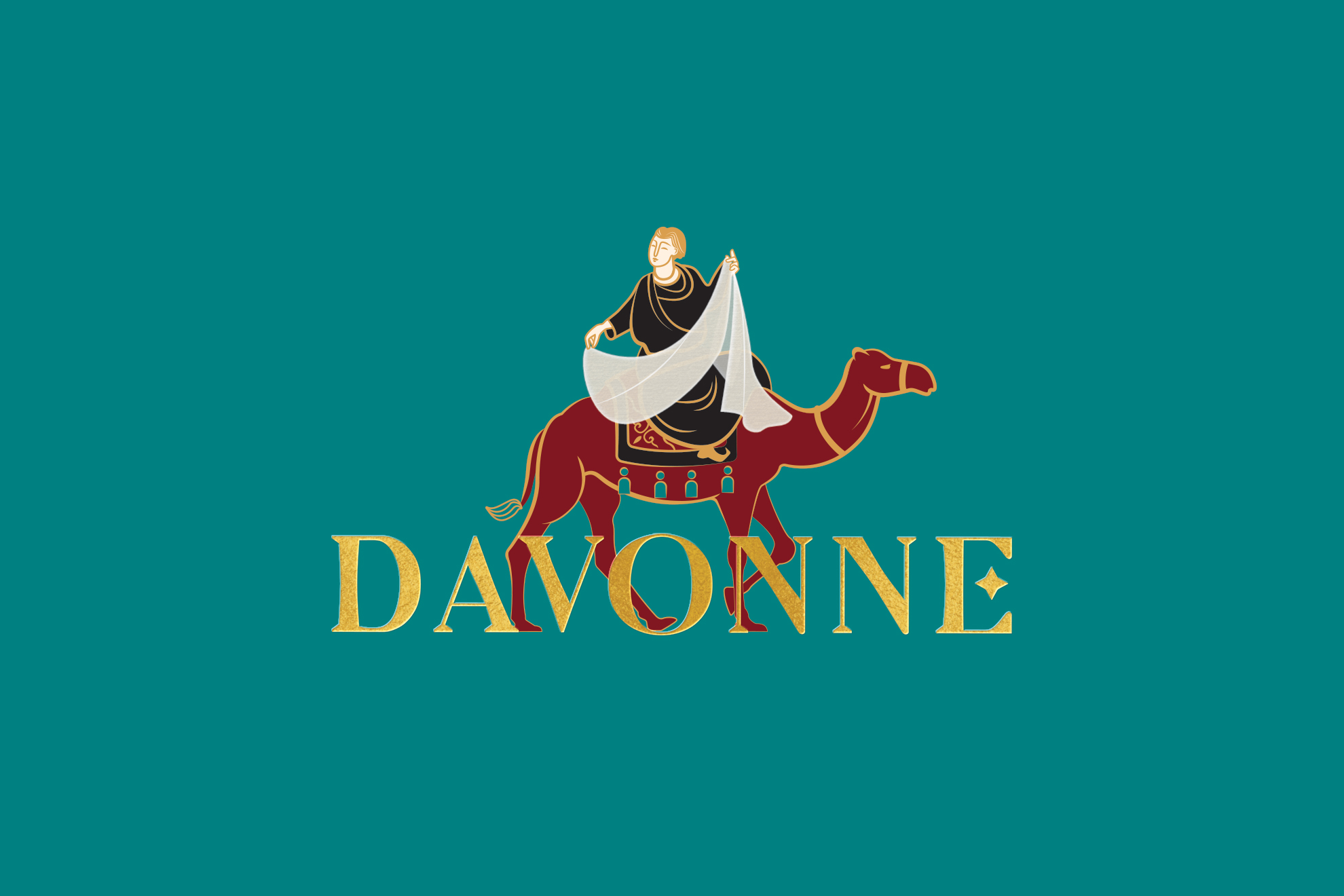 logo design, davonne textile, brand agency, design agency ho chi minh city, logo design, stationary design, packaging design, fashion brand, brand agency in hcmc, xolve branding