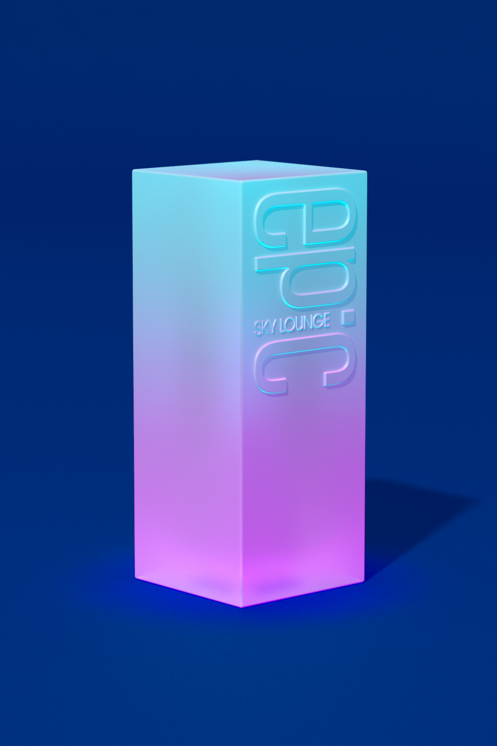 Light tube with Epic Logo Embossed