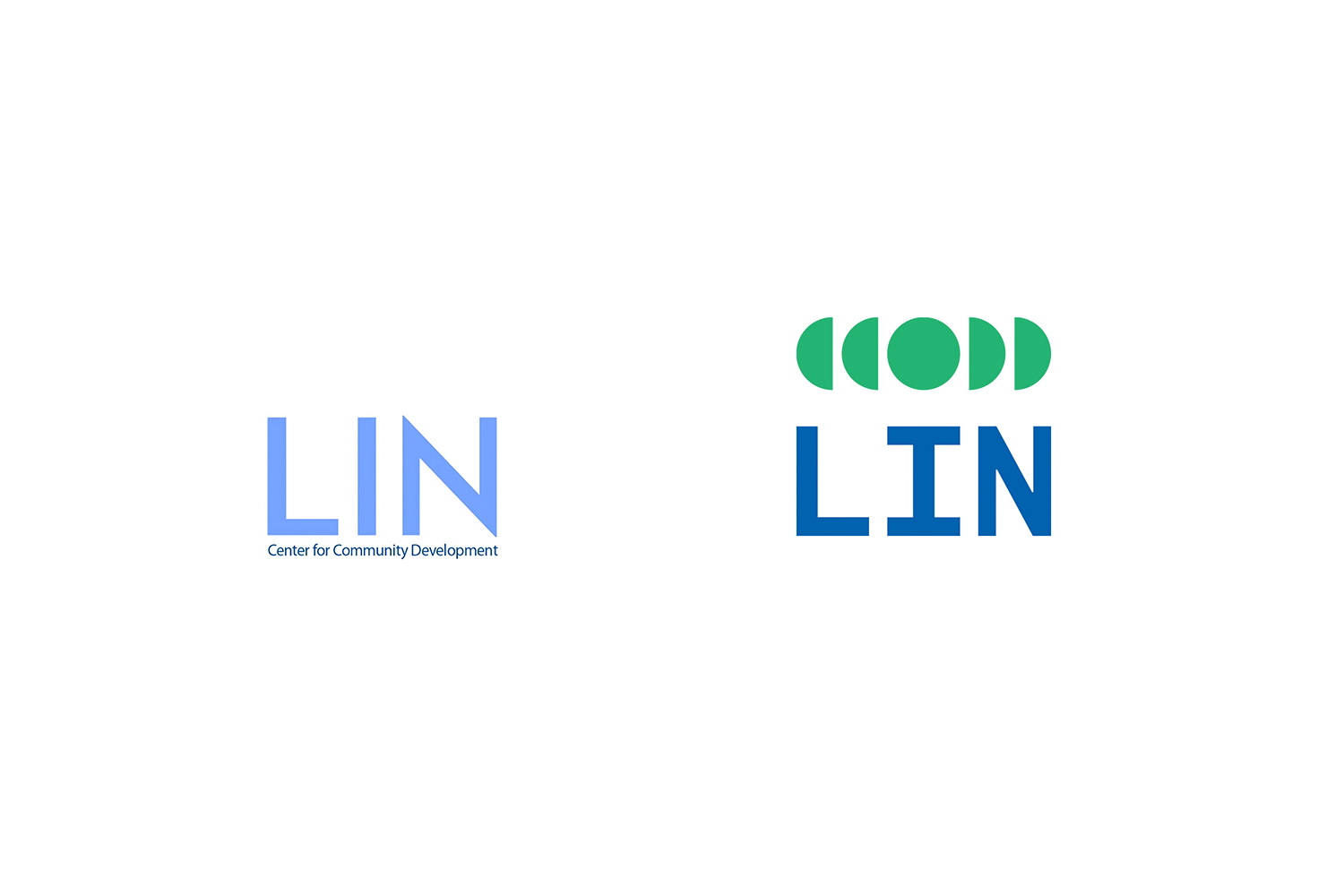 LIN old and new logo comparision